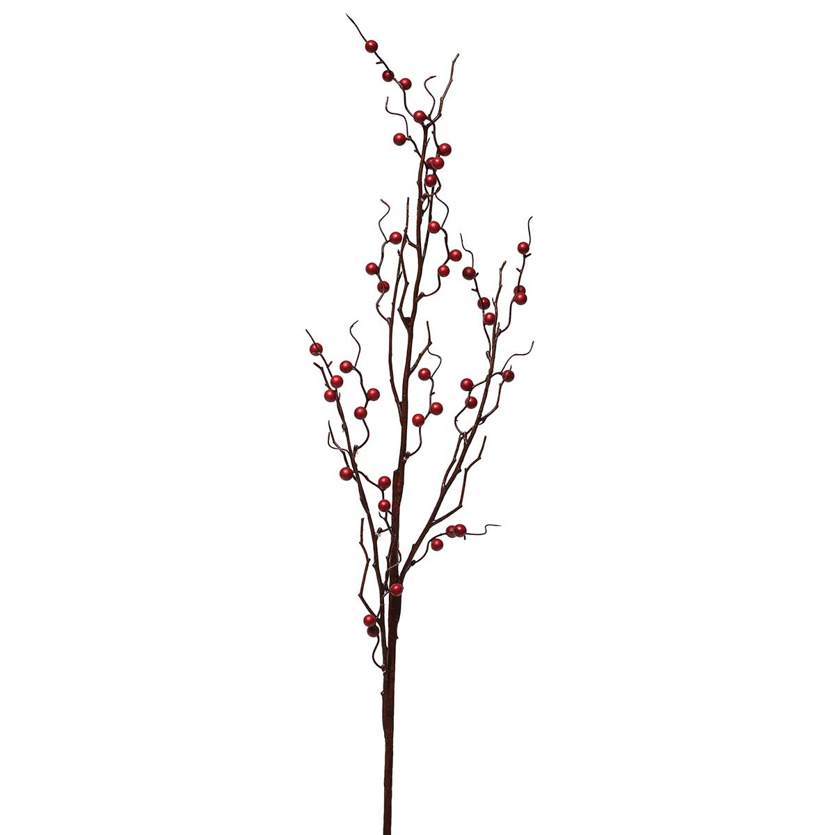 "HOLIDAY BERRY BRANCH 41"" RED"