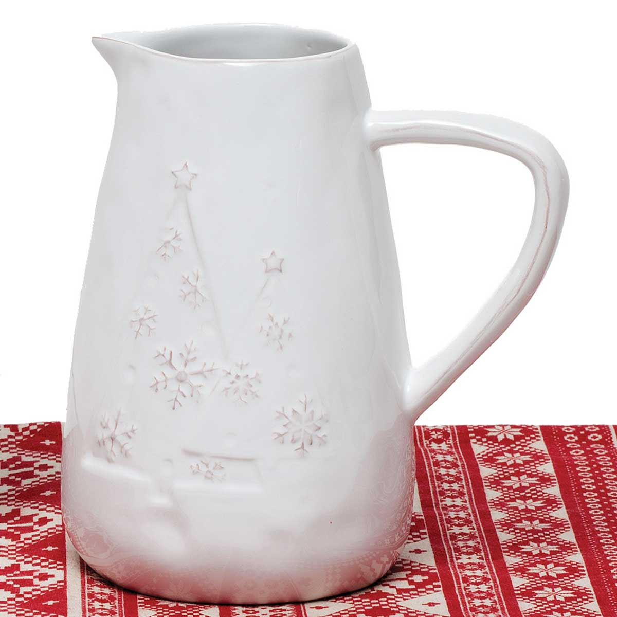 YULETIDE PITCHER