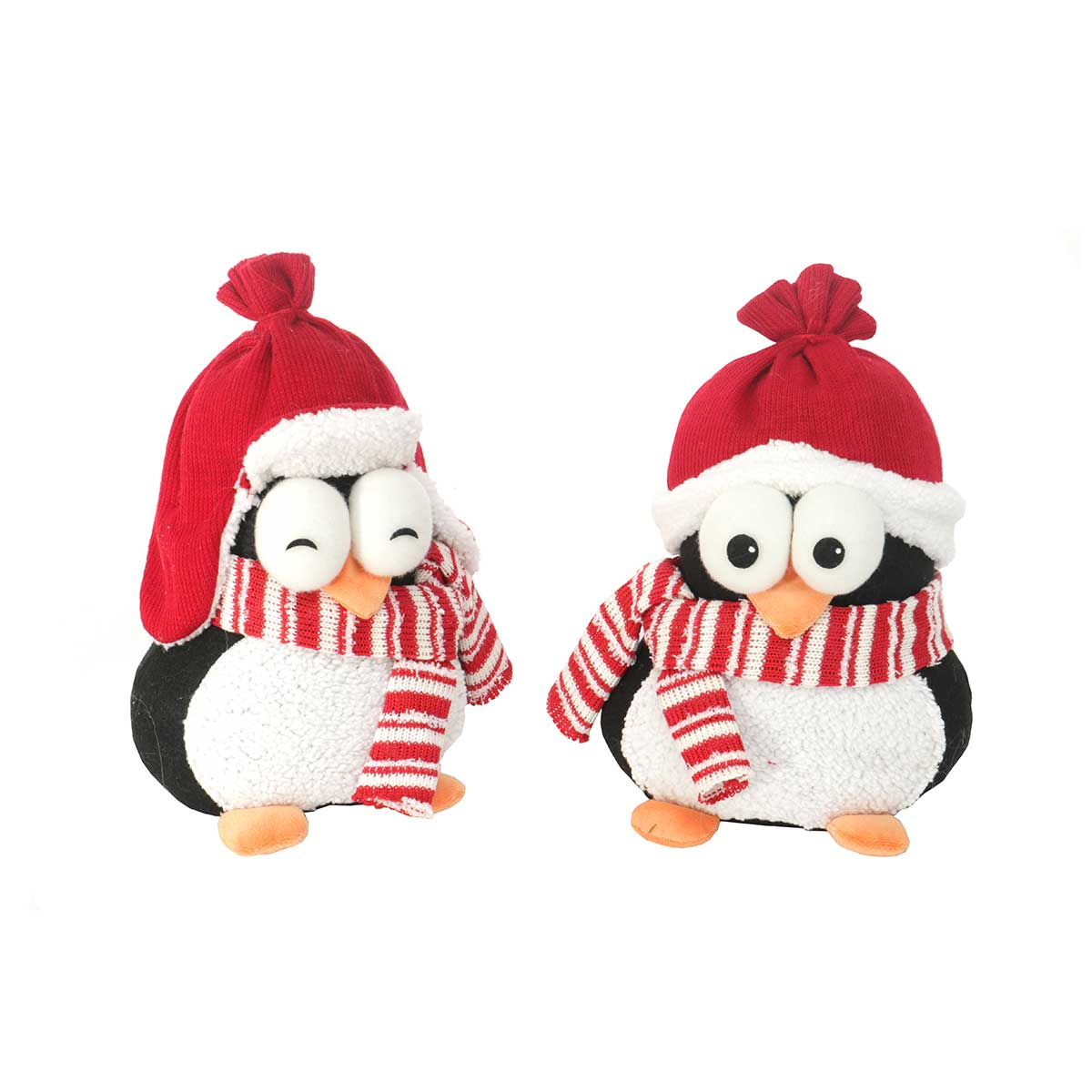 PENGUIN TWINS 2 ASSORTED 10""