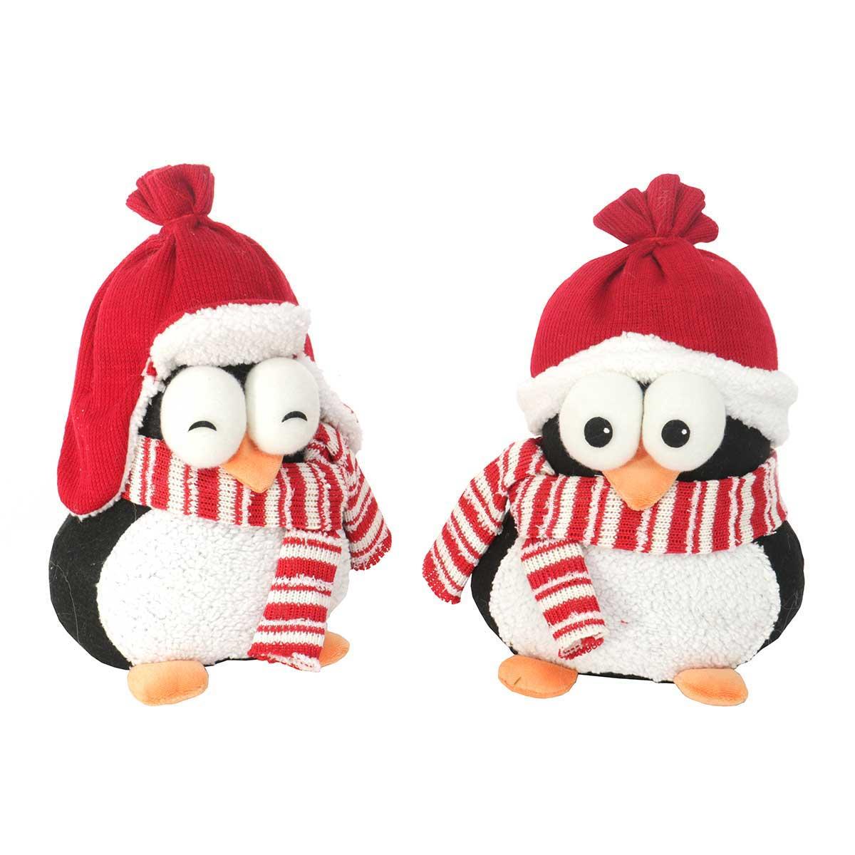2 Piece Penguin Collectible Set Stocking