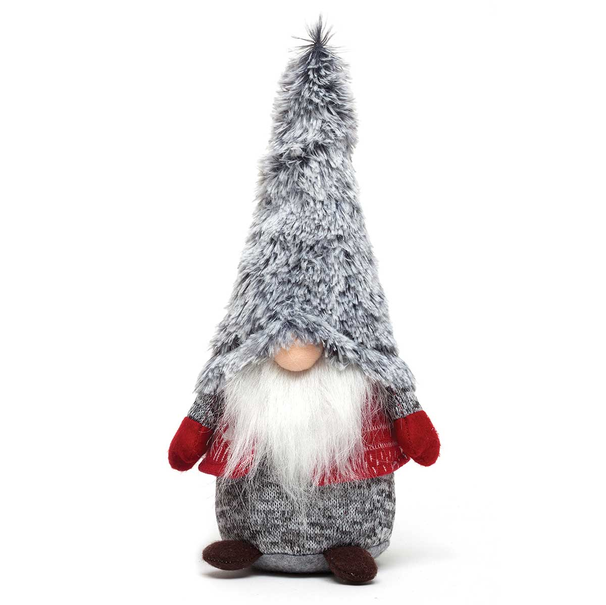 NORDIC BOY GNOME WITH FUR HAT