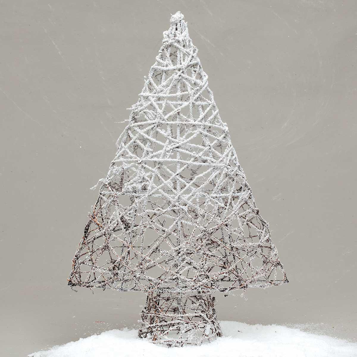 """SNOWY OMBRE TWIG TREE 23"""""""