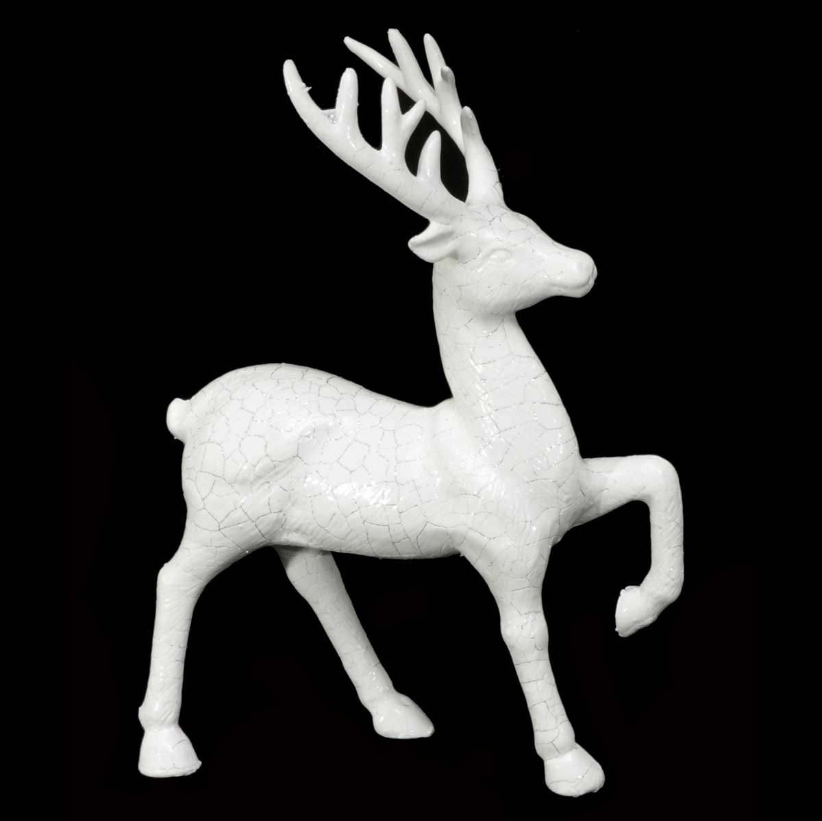 PRANCING DEER WITH
