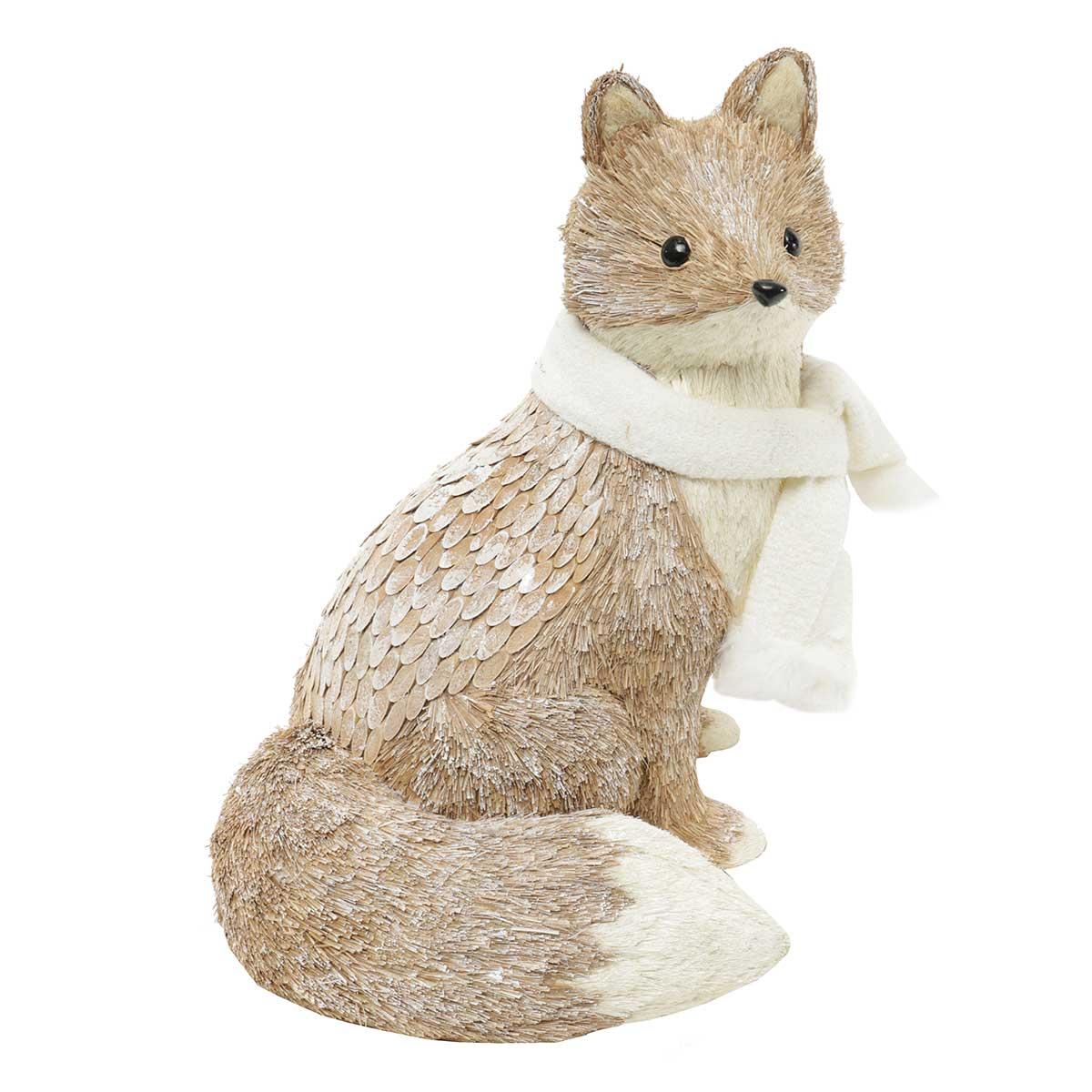 SNOWED INN SITTING SISAL FOX