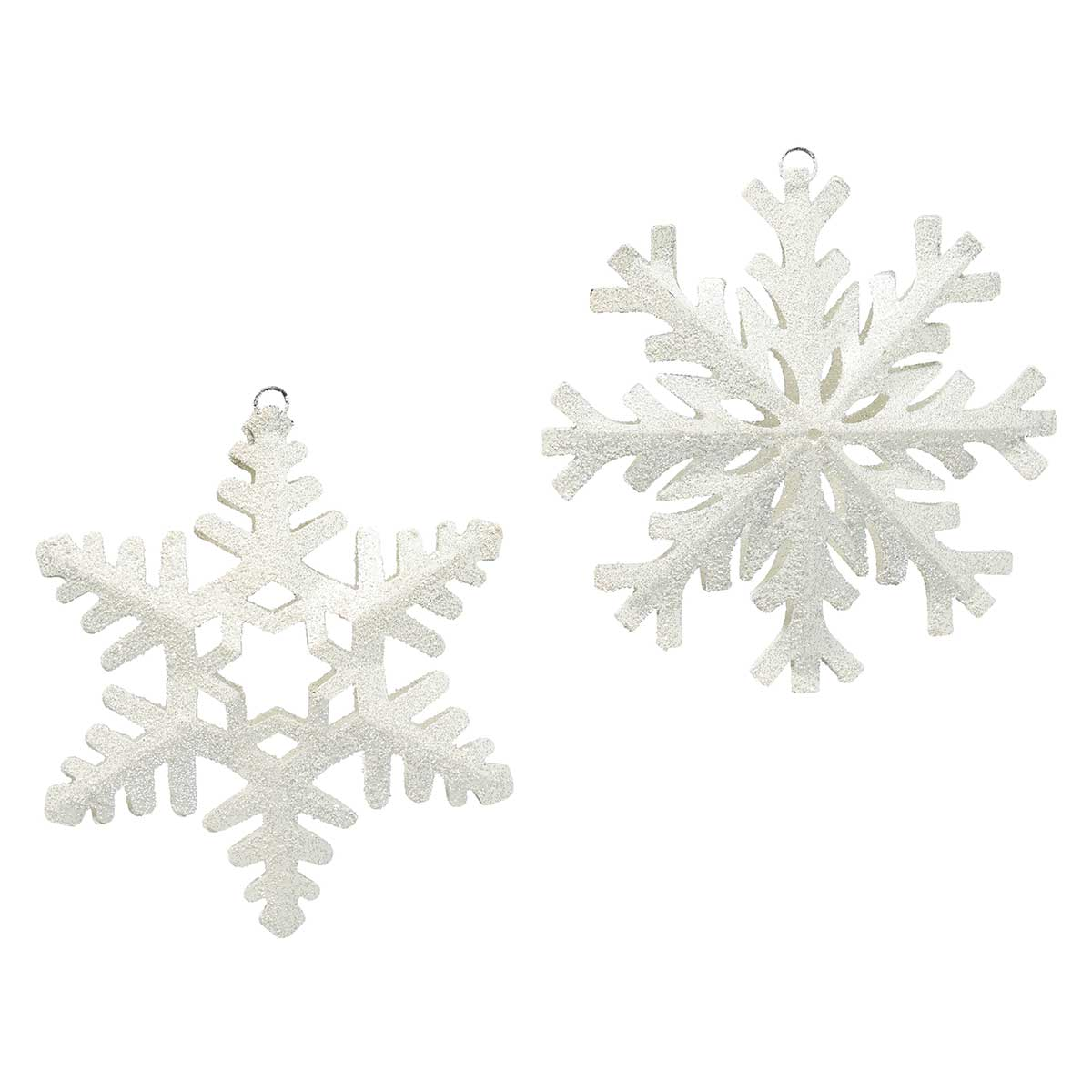 SNOWED INN METAL SNOWFLAKE
