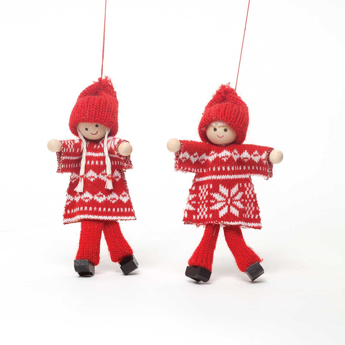 RED SNOWFLAKE SWEATER KID
