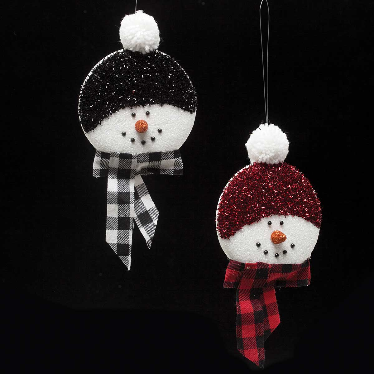 LET IT SNOW SNOWMAN ORNAMENT
