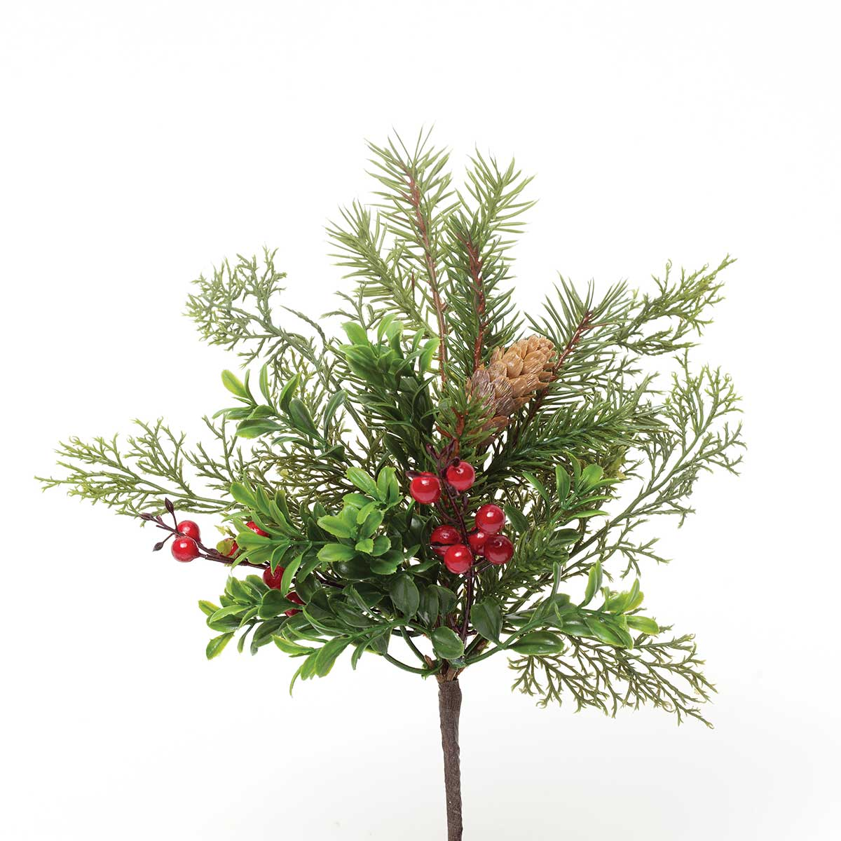 BOXWOOD & BERRY PIK 14""