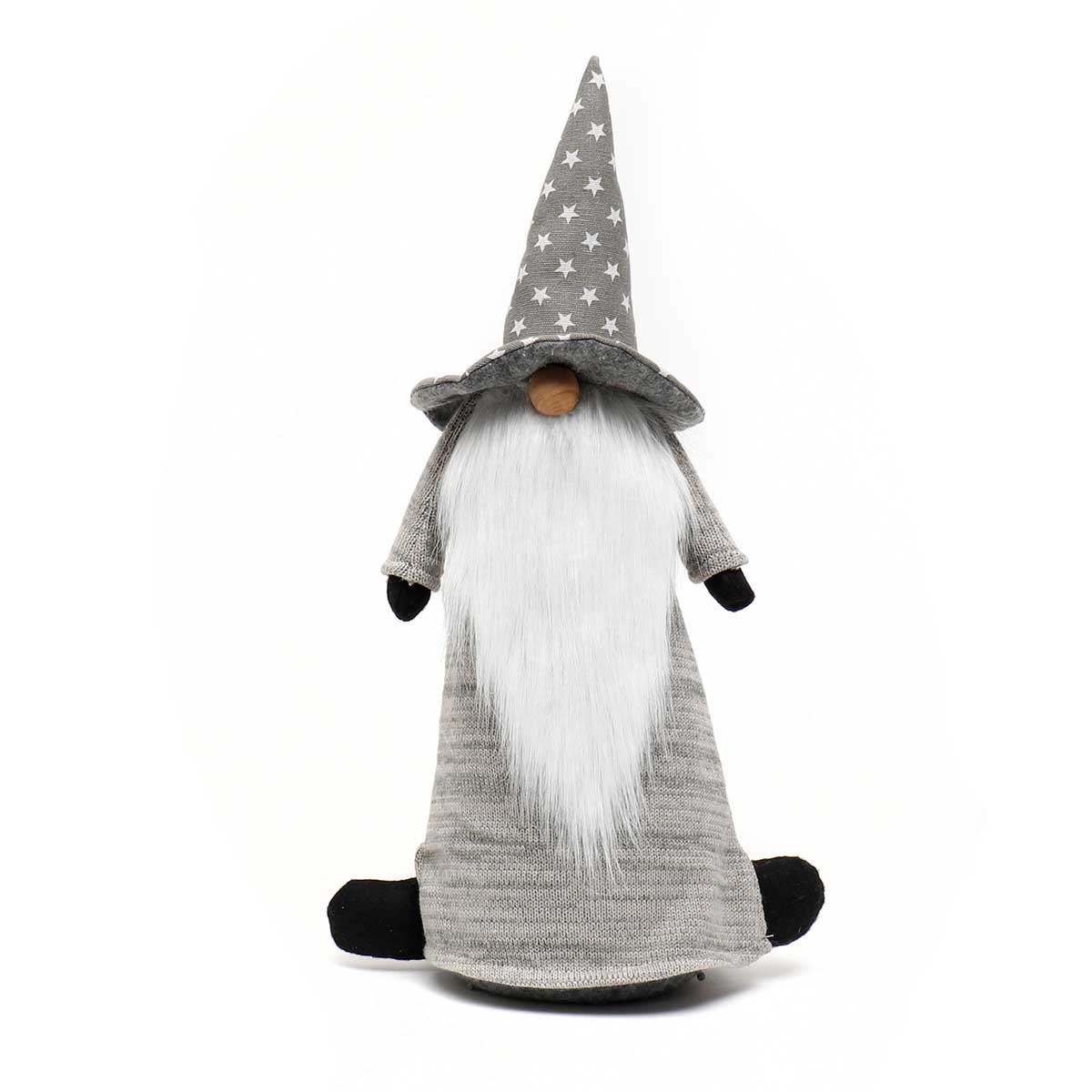 WIZARD GNOME WITH STAR HAT AND