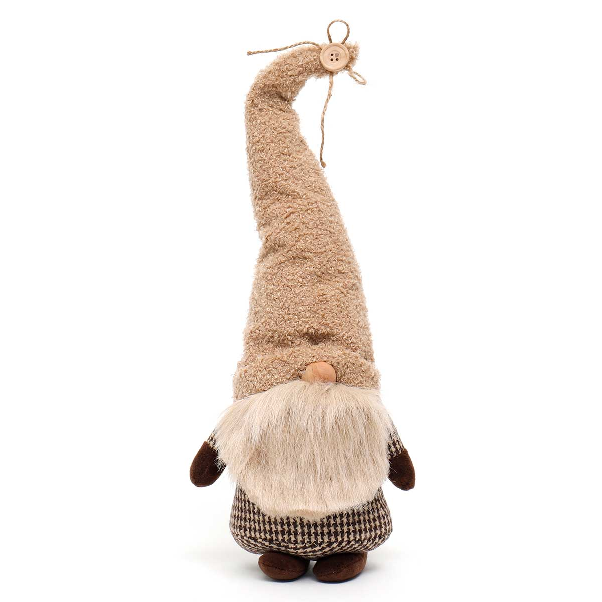 TOMAS GNOME WITH TAN HAT, TWINE