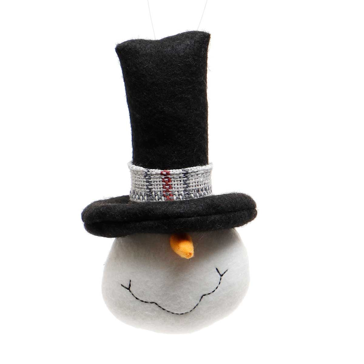 FROSTY SNOME HEAD WITH BLACK