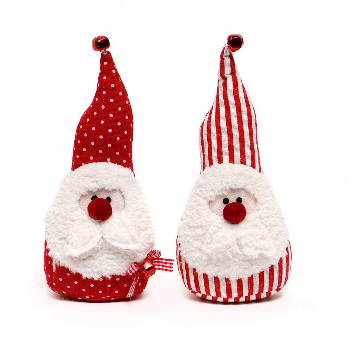 RED SANTA GNOME WITH RED NOSE AND