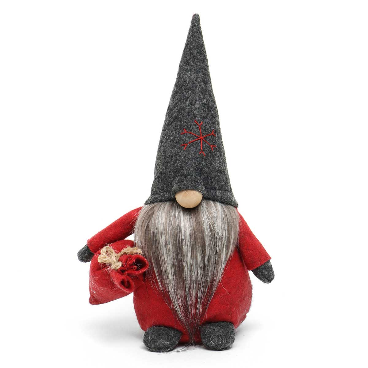 TOMTE GNOME WITH DARK GREY