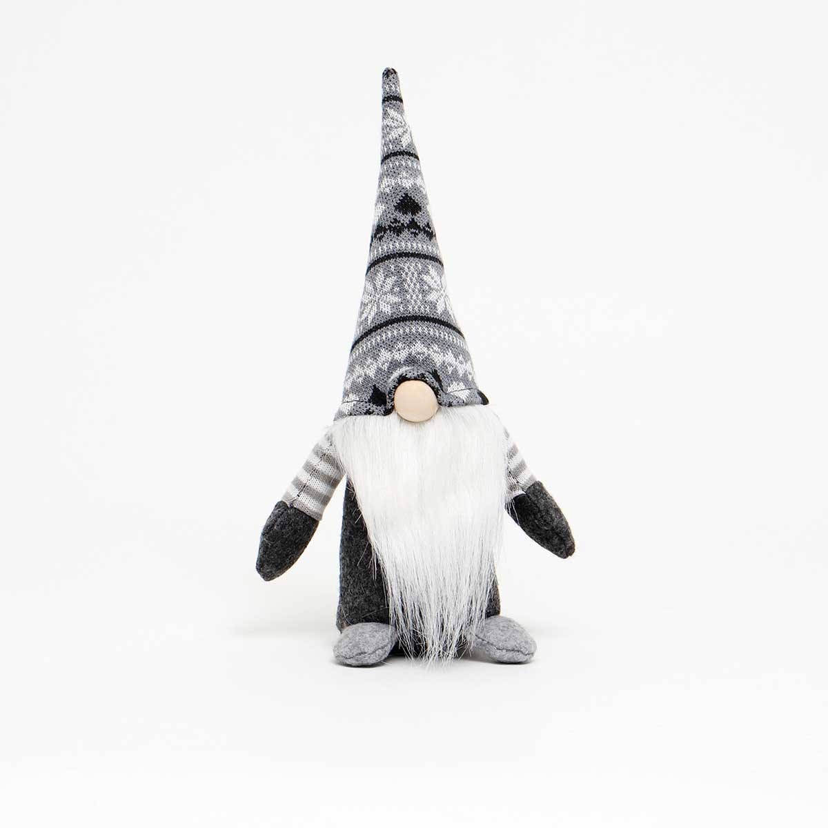 NISSE GNOME WITH GREY/WHITE