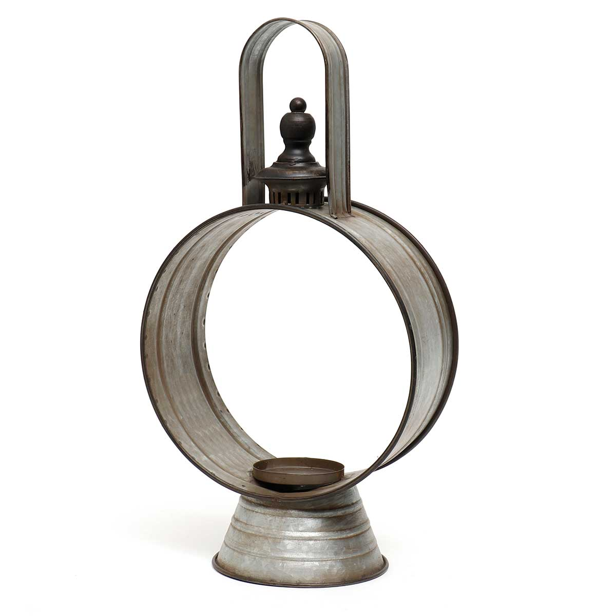 RECLAIMED METAL LANTERN SMALL