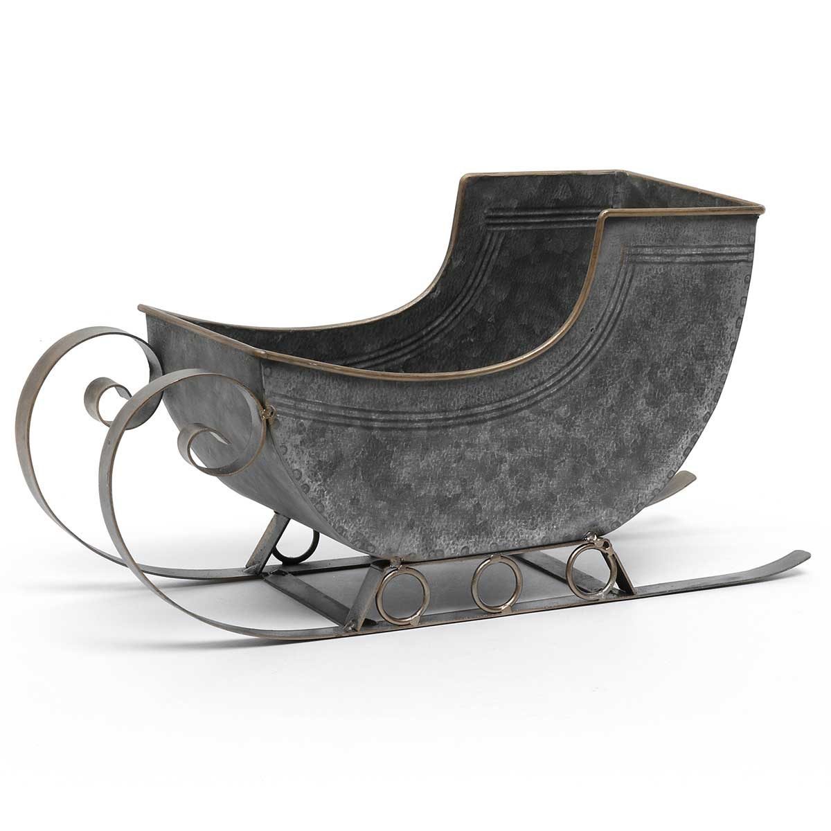 METAL SLEIGH WITH RUNNERS