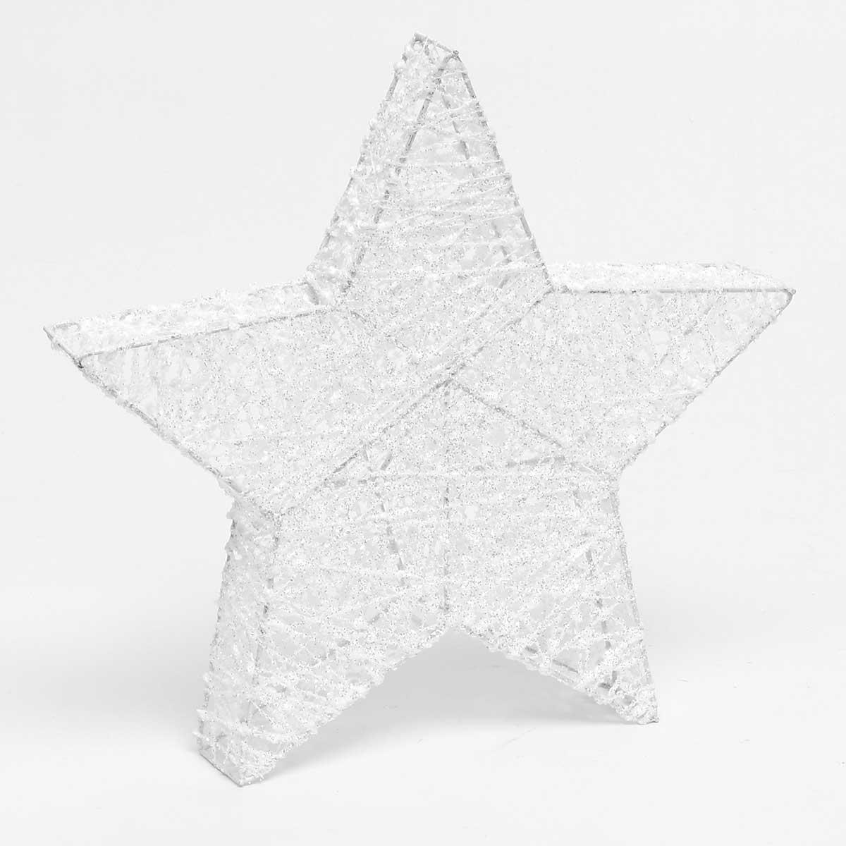 WHITE WINTER 3-D STAR