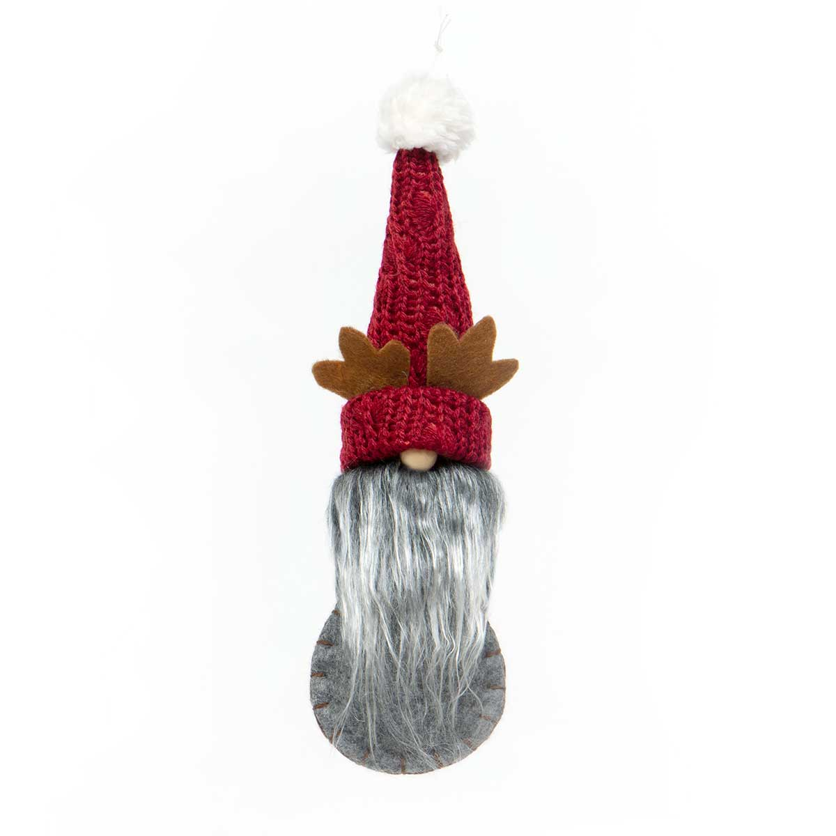 GNOME FLAT ORNAMENT WITH ANTLERS,