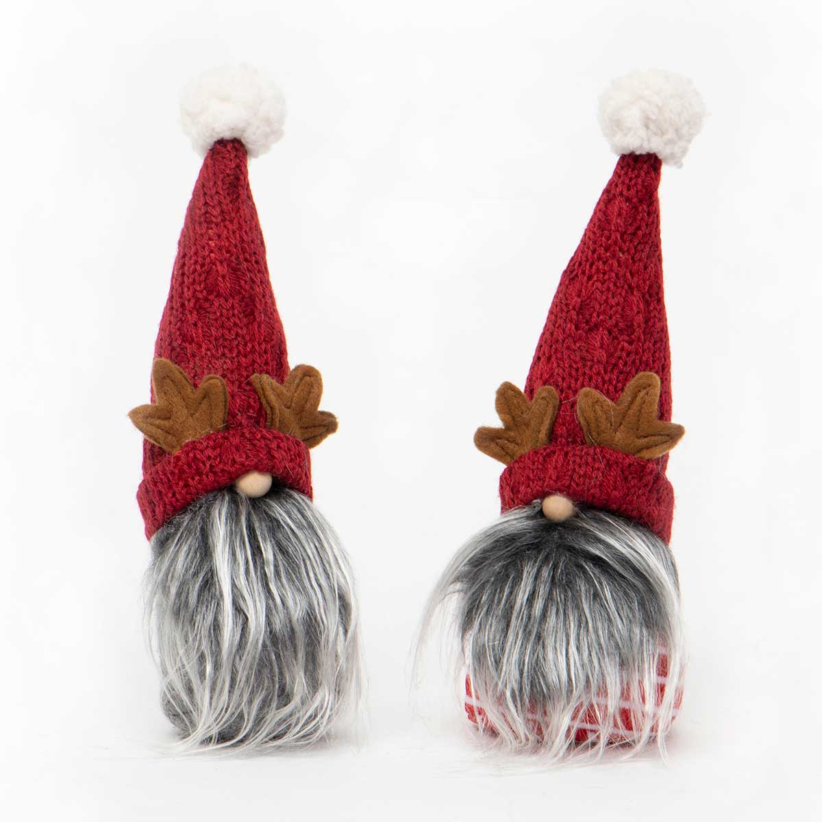 MINI GNOME WITH ANTLERS, SWEATER HAT,
