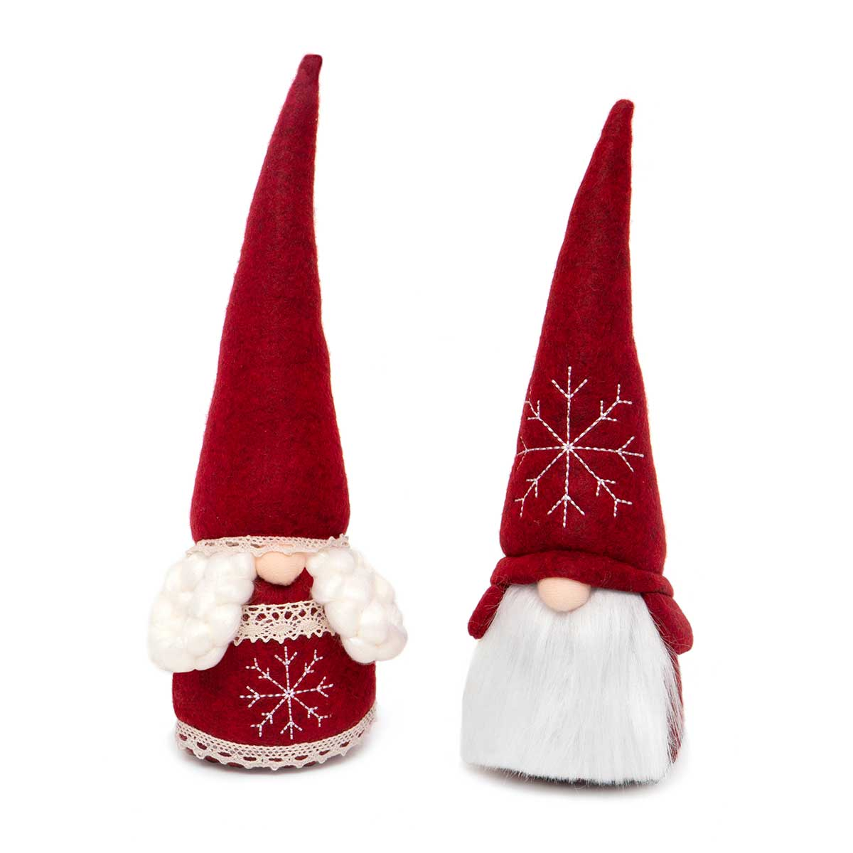 RED SWEDISH COUPLE GNOME WITH WIRED