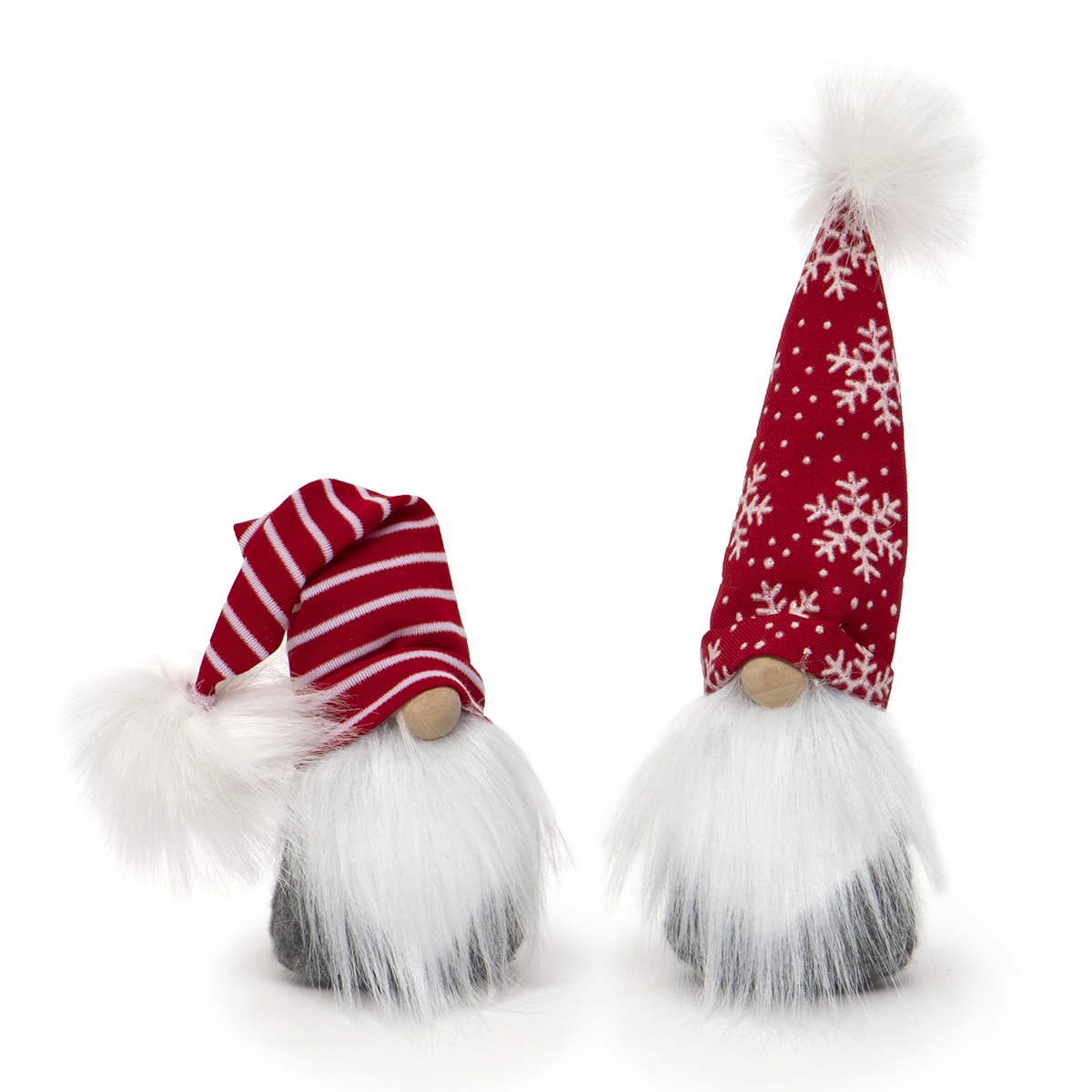 RED/WHITE CHRISTMAS GNOME WITH WHITE