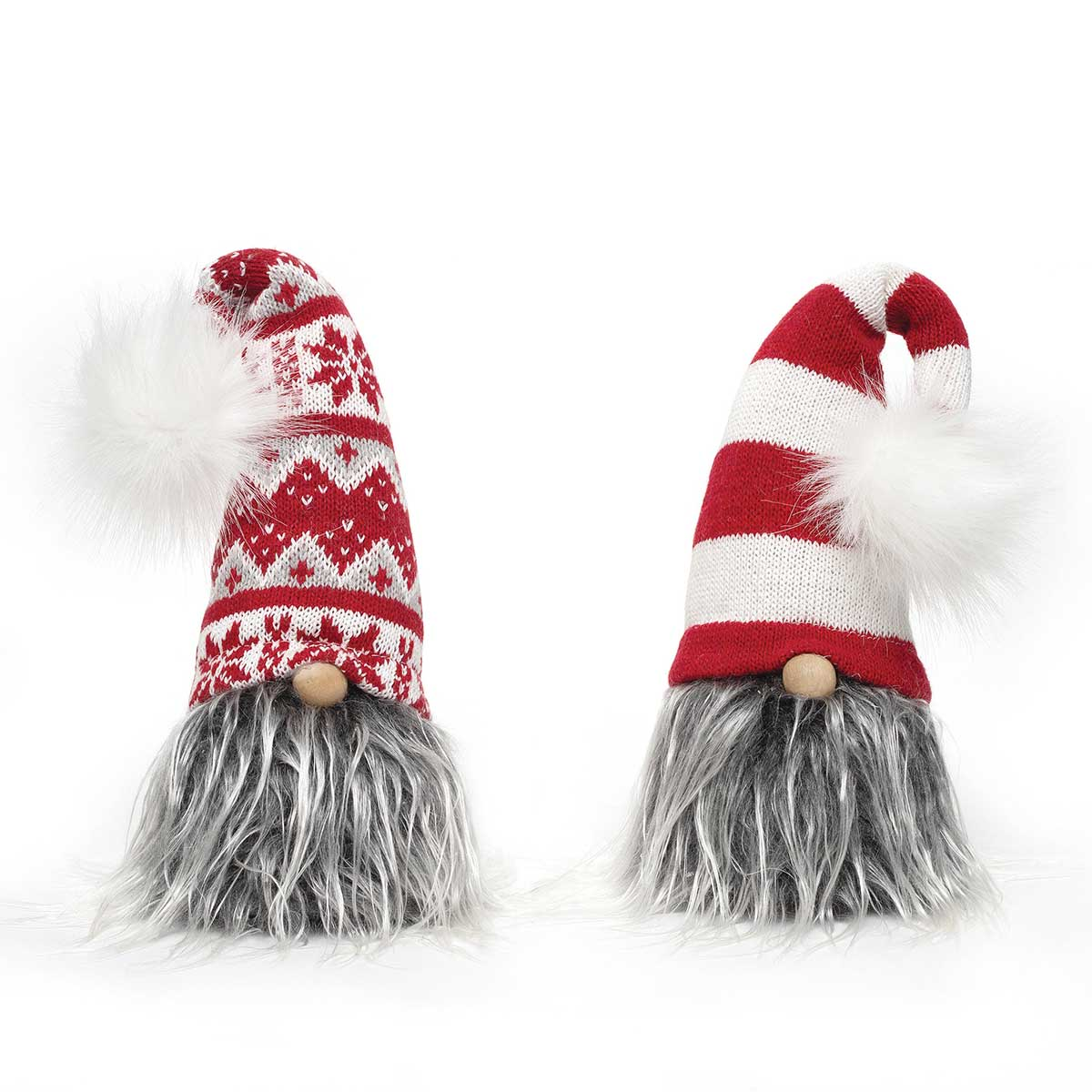 GNOME HEAD WITH STAR POM, WIRED