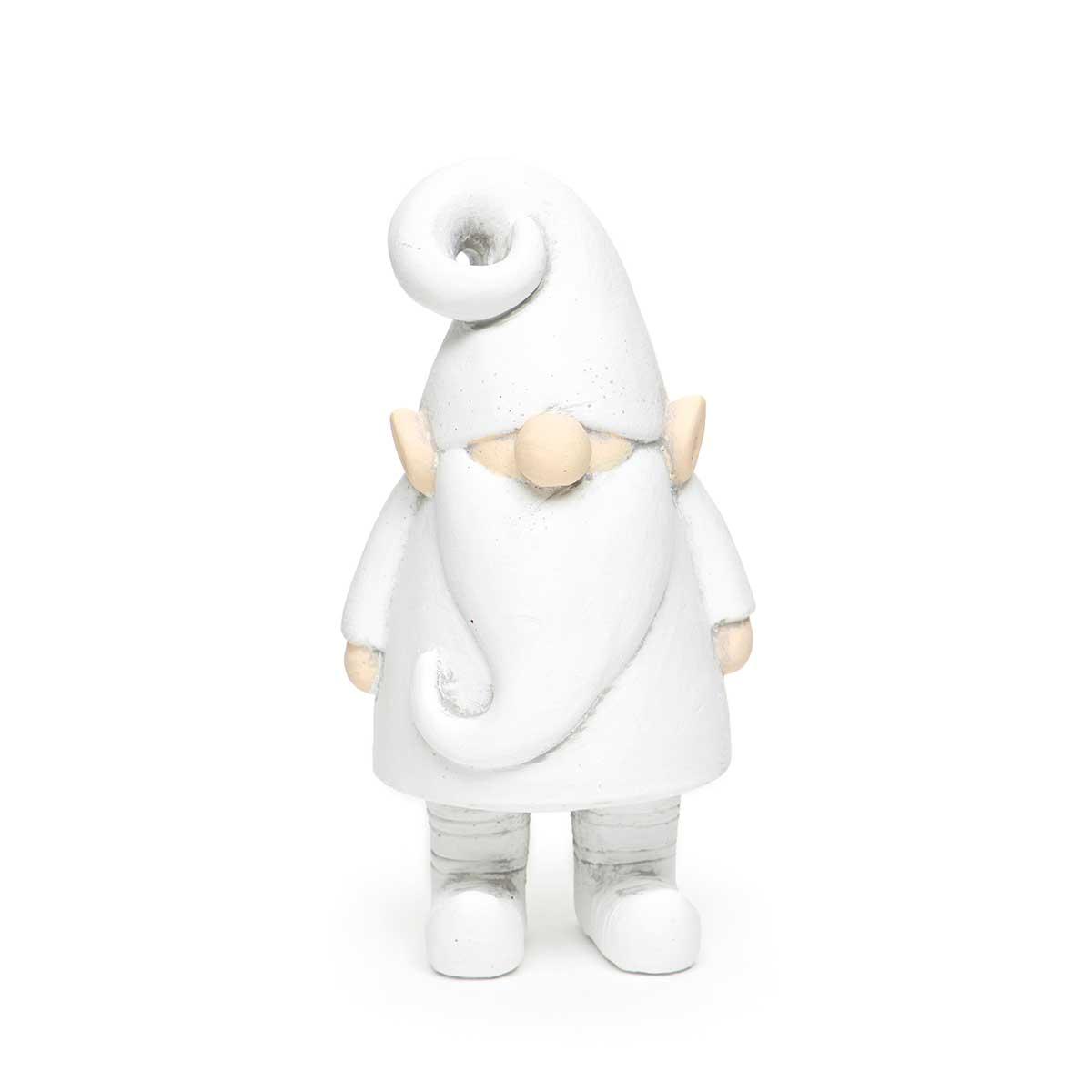 WHITE CONCRETE ELF GNOME