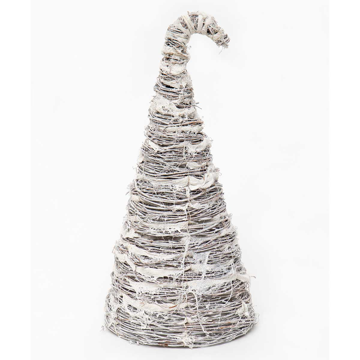 TWIG CONE TREE WITH GLITTER