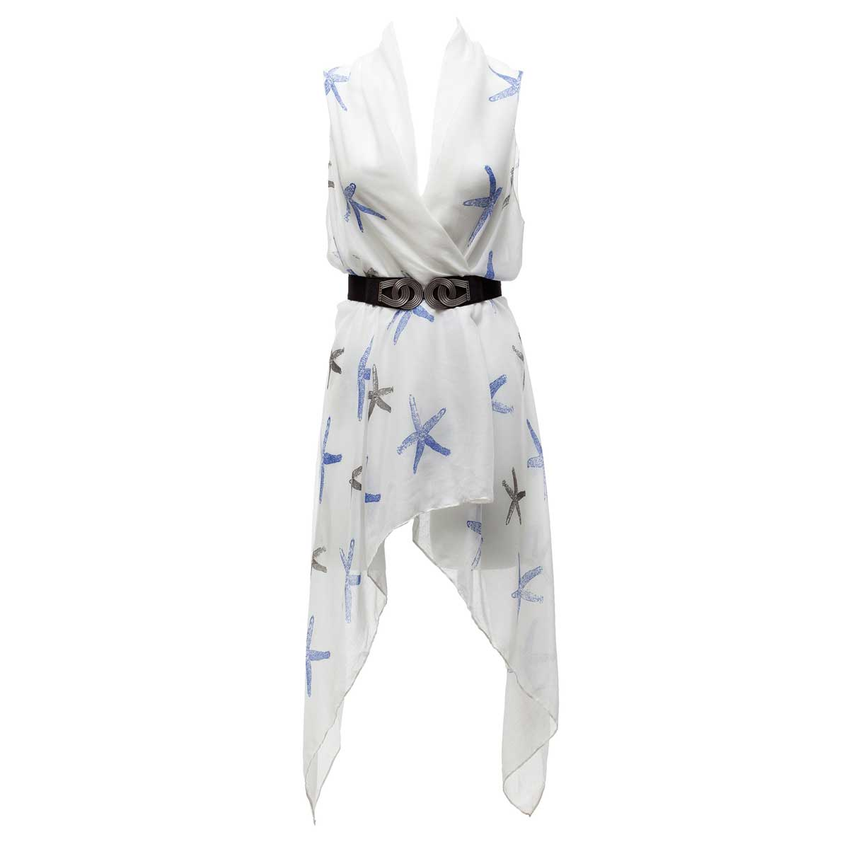 White Starfish Cover Up/Vest *30sp