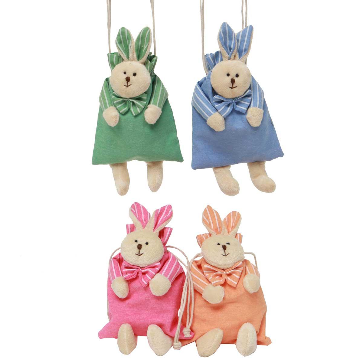 Itty-Bitty Bunny Bag 5�x9� 4 Assorted T3398 50%