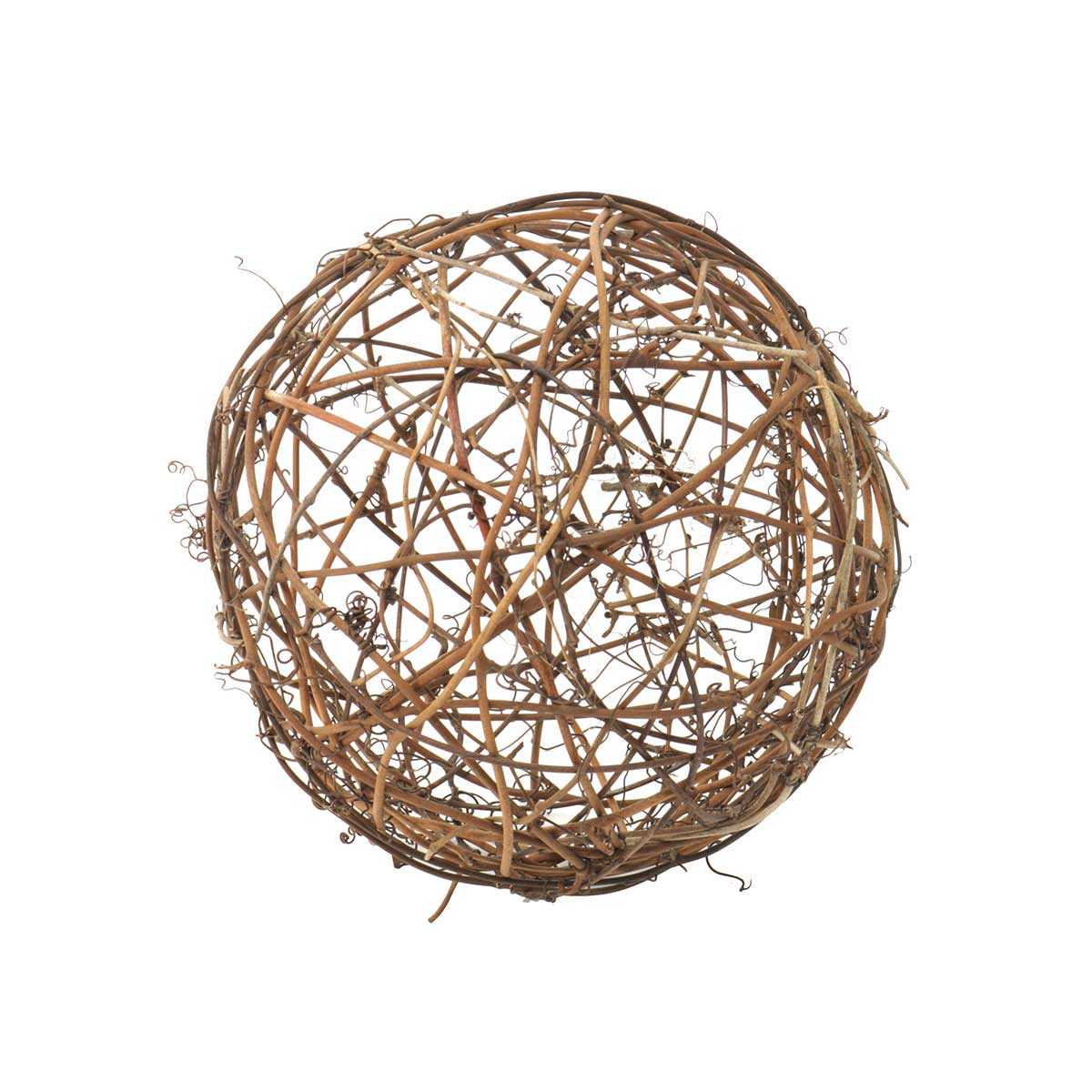 "Twig Ball 8"" Brown"