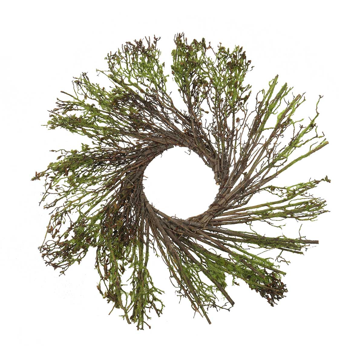 "Moss & Twig Mini Wreath 13""(Inner Ring 3"")"