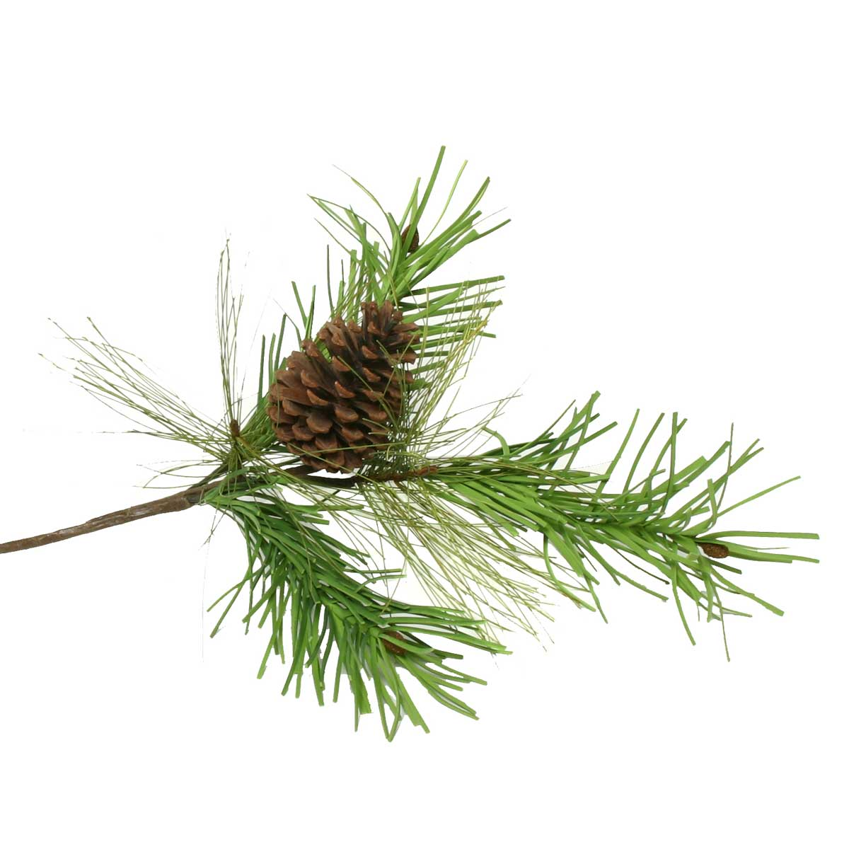 """V4046 NATURAL MIX PINE SPRAY WITH 1 CONE 24"""" b50"""