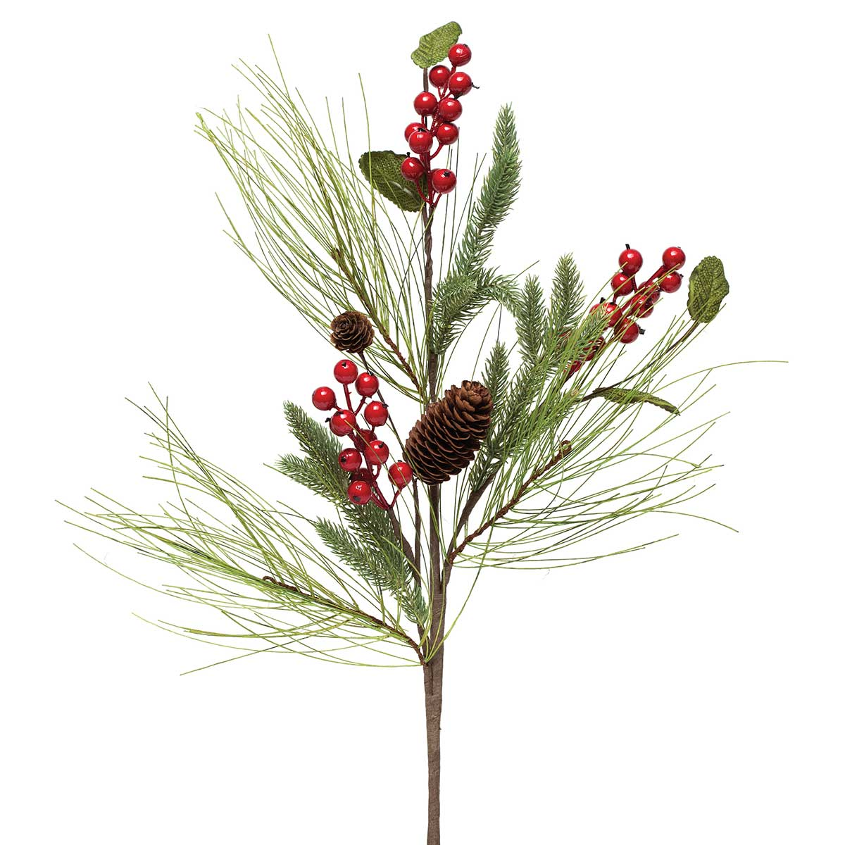 MIXED SPRUCE BERRY SPRAY 28""