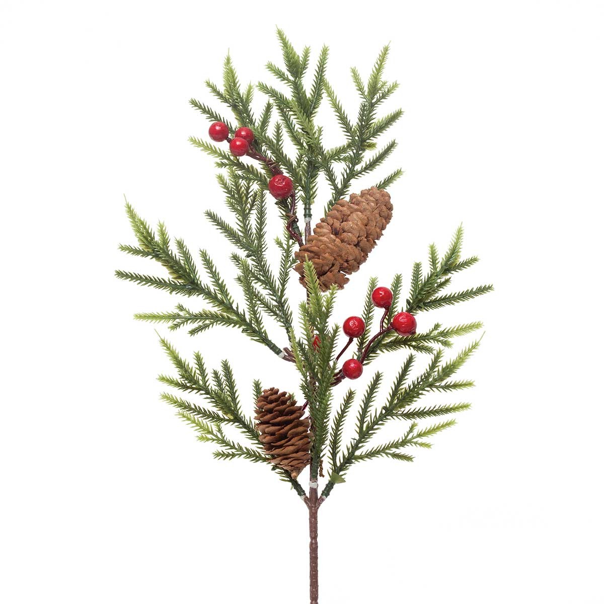 RED BERRY & SPINDLE PINE SPRAY