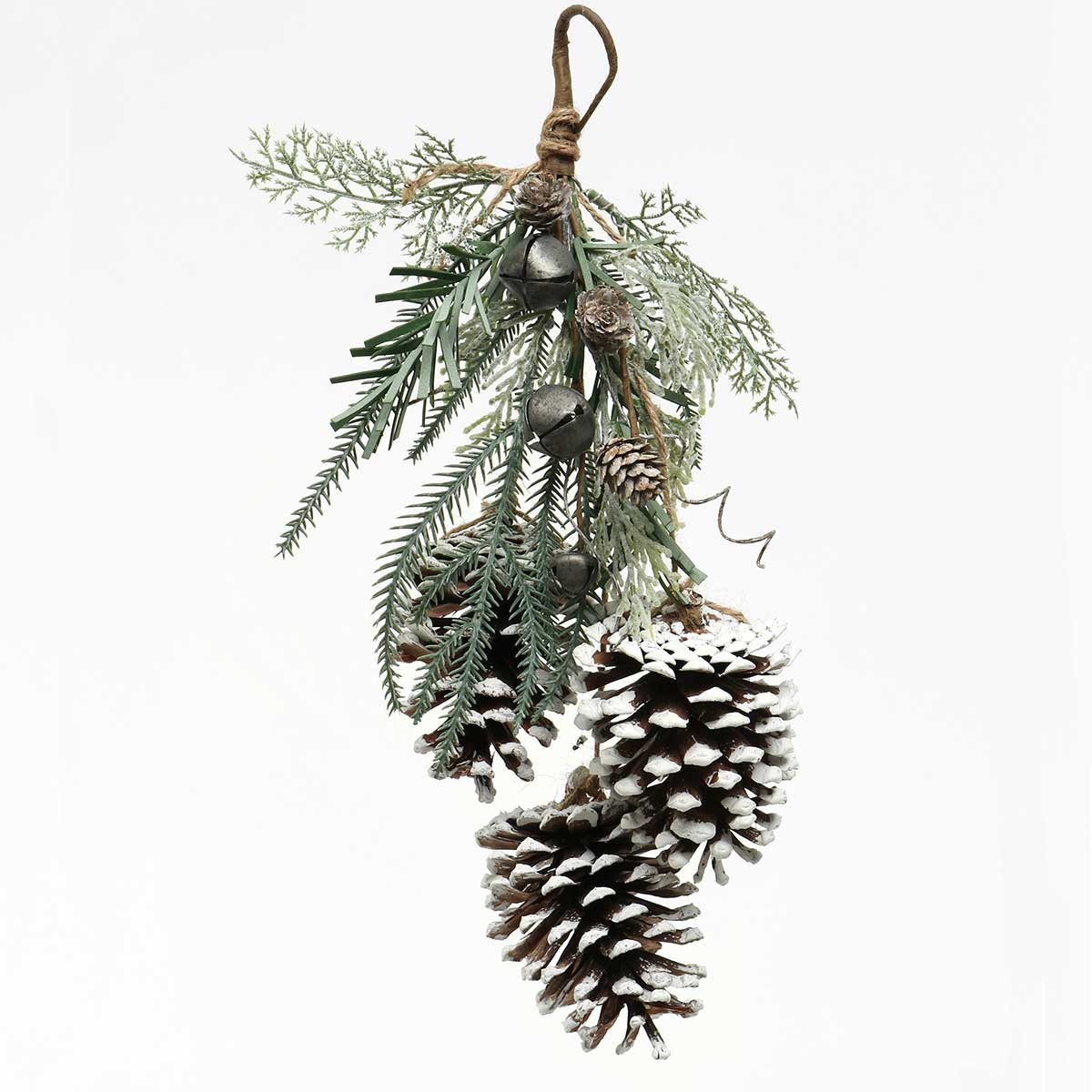 PEWTER BELLS MIXED PINE, BERRY AND