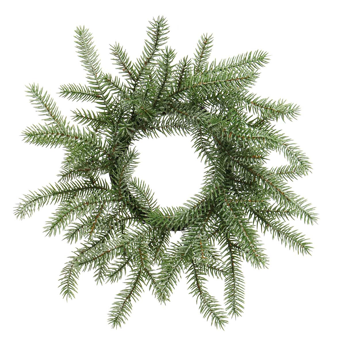 NORDIC FIR PINE WREATH WITH MICA AND