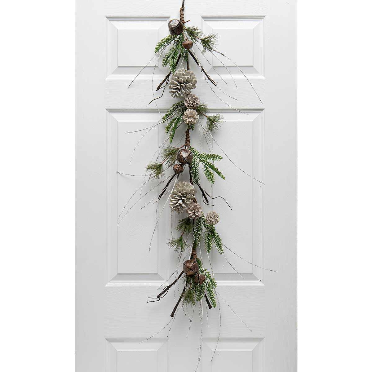 BIRCH & PINE GARLAND WITH JINGLE