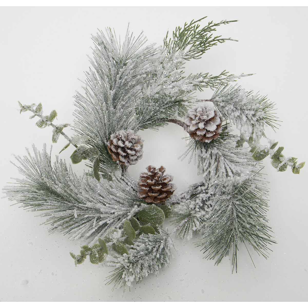 FROSTED PINE & EUCALYPTUS