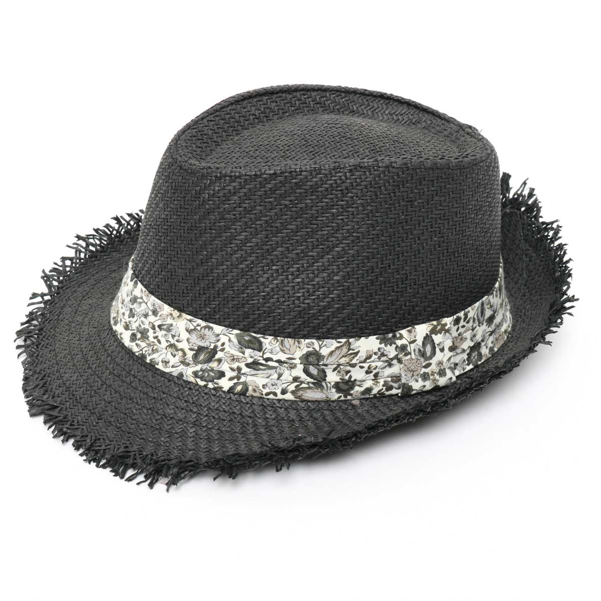 Fringed Fedora Black *30sp