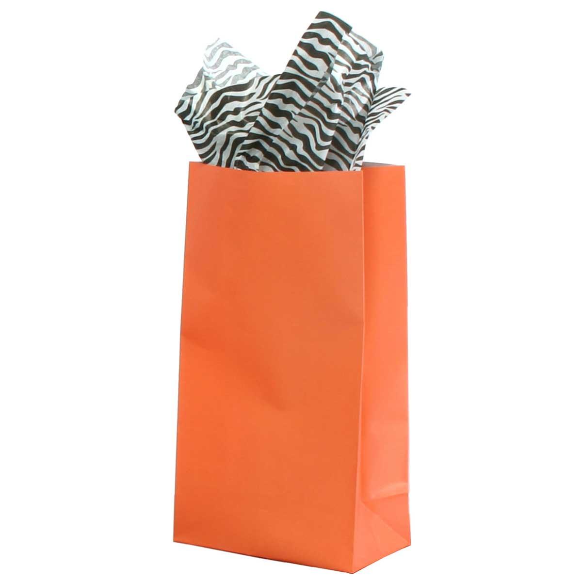 LARGE PAPER BAG CORAL *30sp
