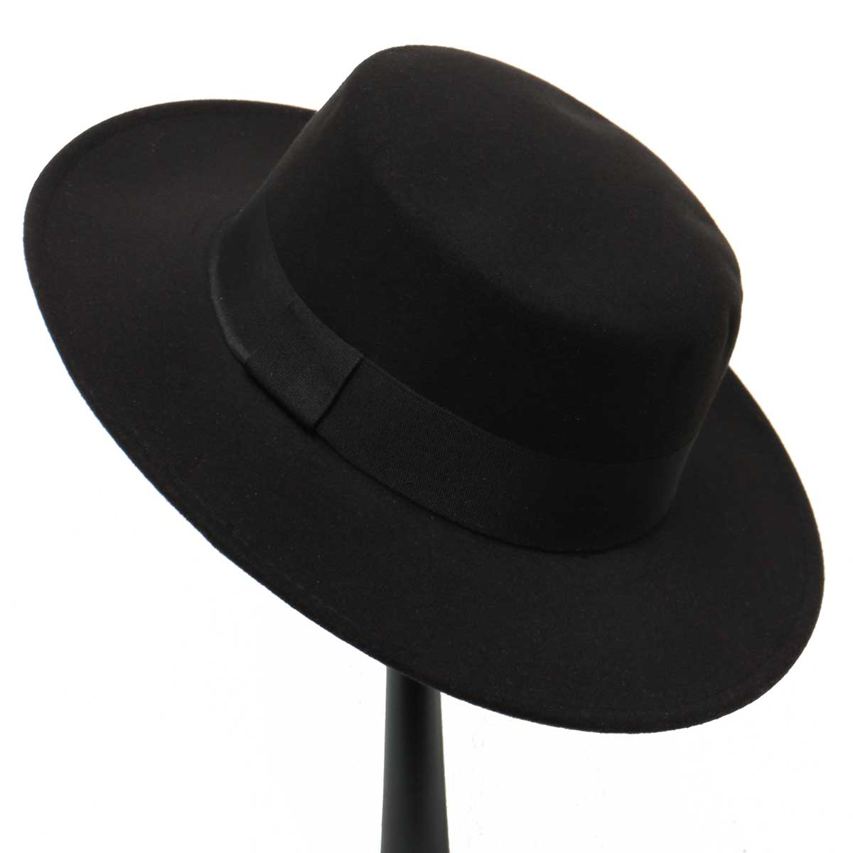 BLACK GAUCHO HAT