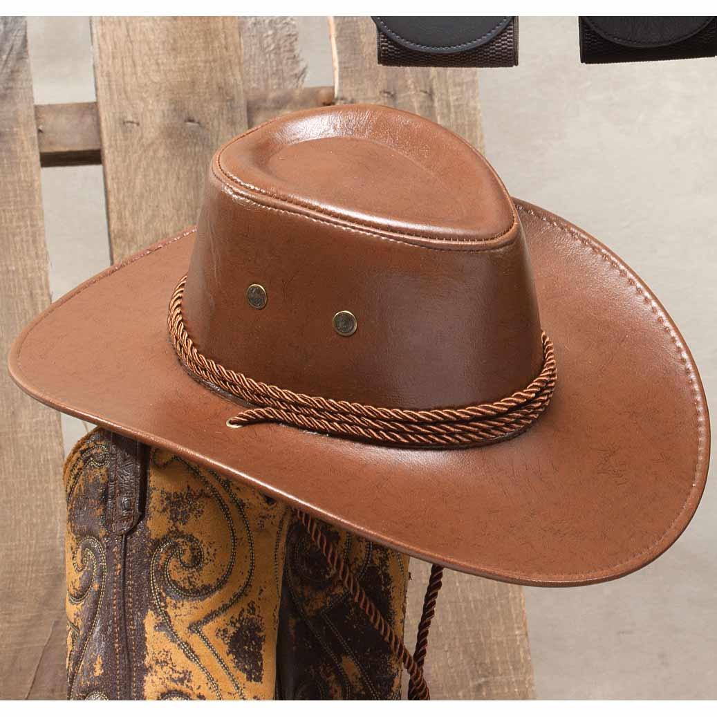 BROWN STAMPEDE HAT 50sp