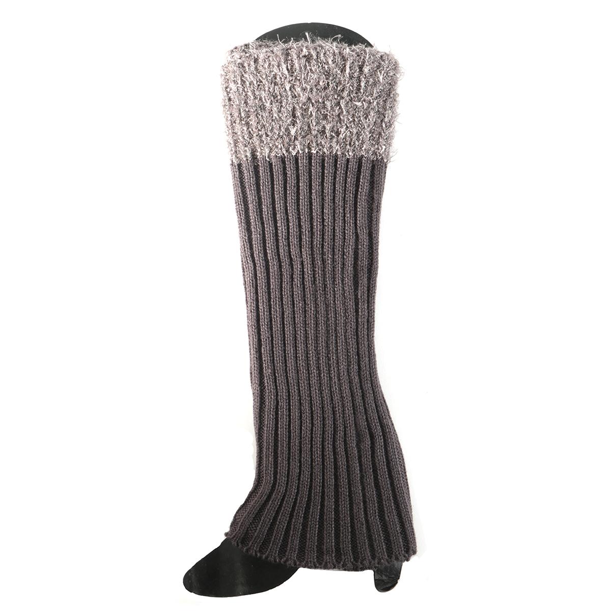 Light Grey Boot Cuff Tall