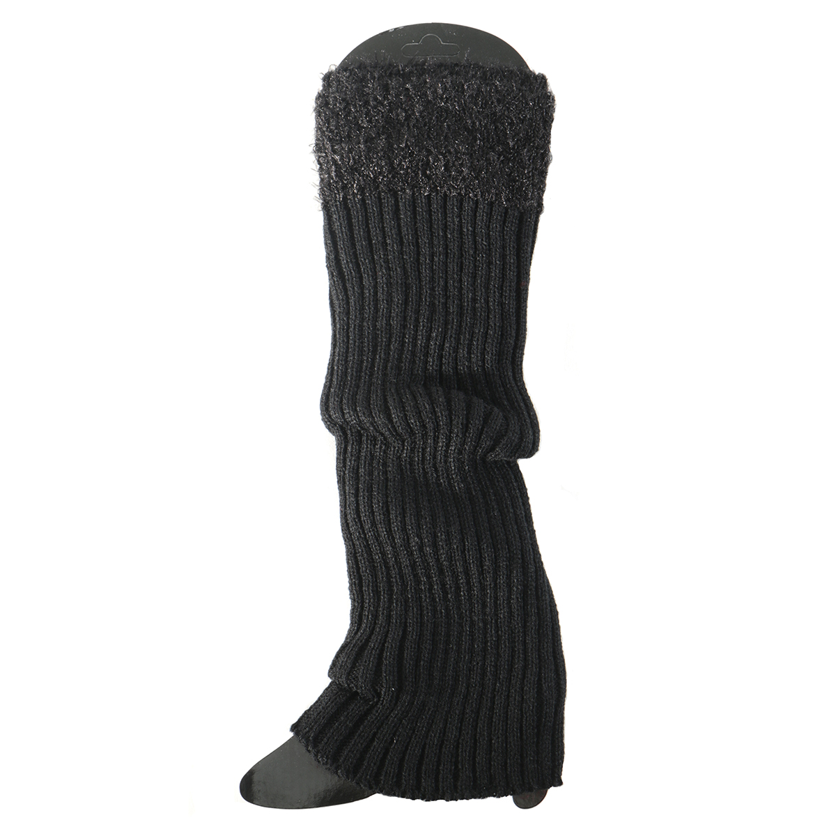 Black Boot Cuff Tall