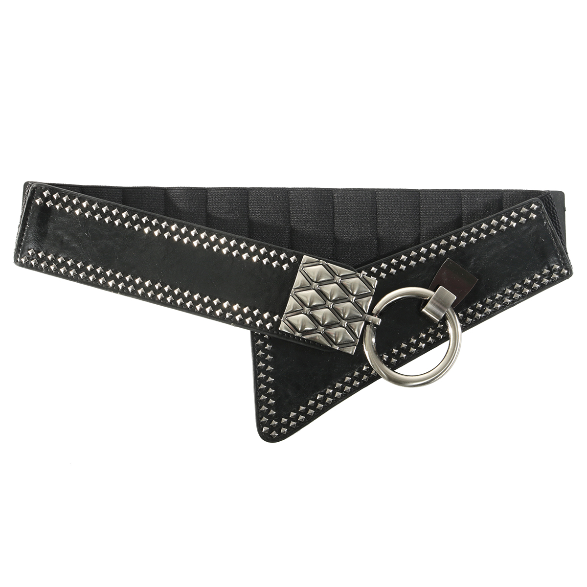 Black Rivet Belt