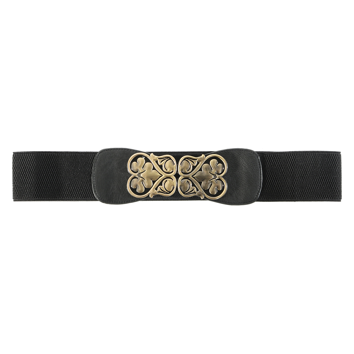 Black Heart Buckle Belt