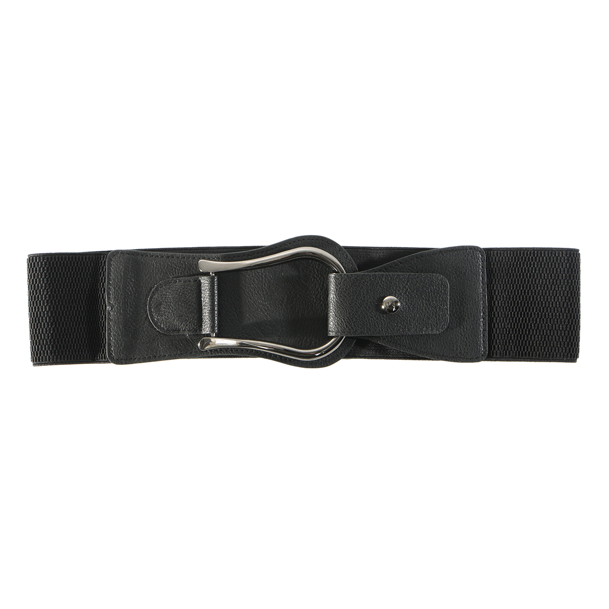 Black Snap Belt