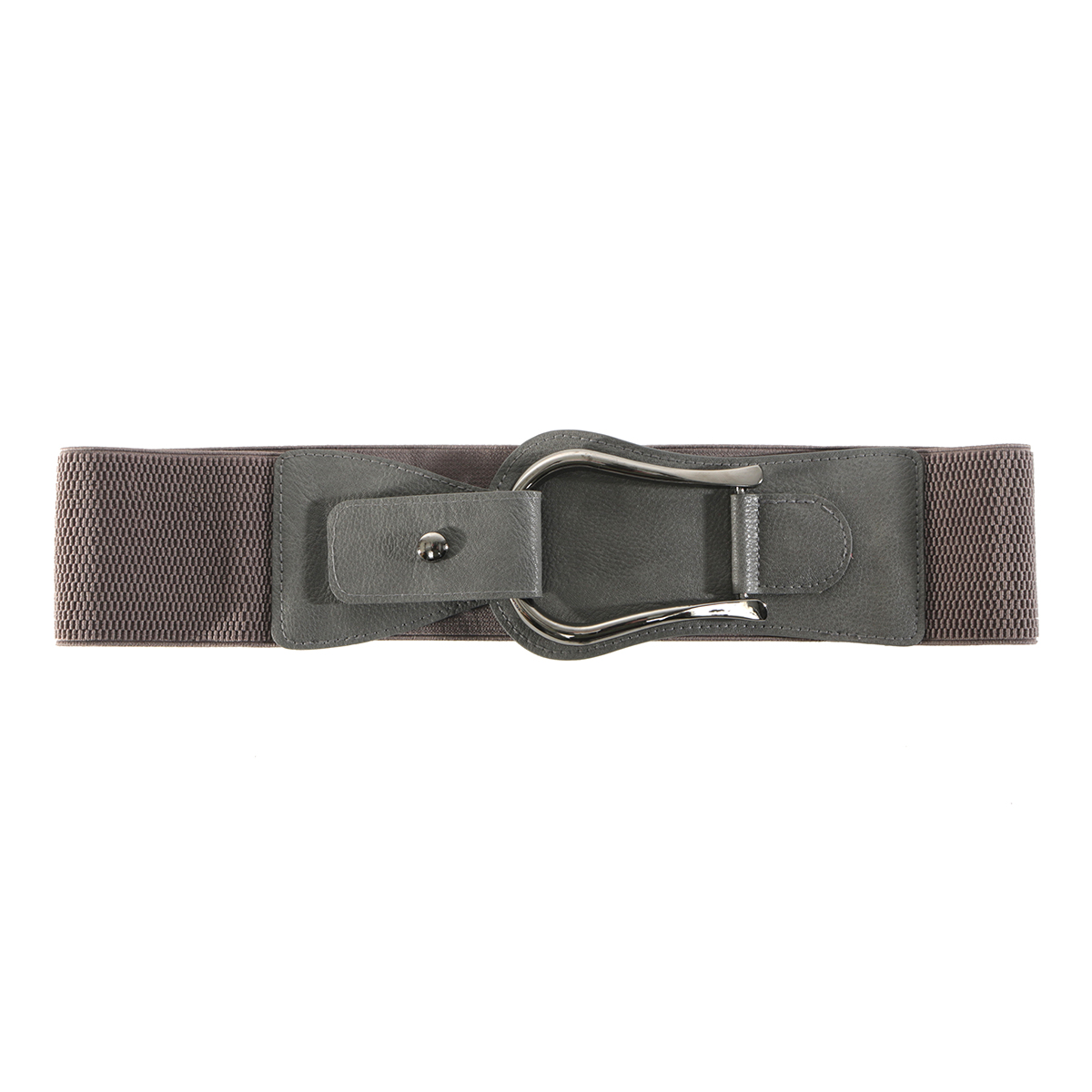 Grey Snap Belt
