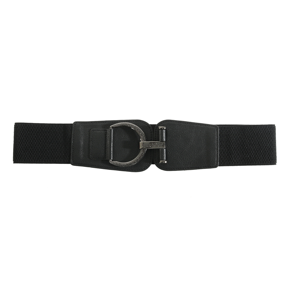 Black Fancy Buckle Belt